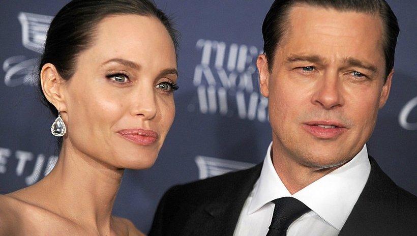 Brad Pitt, Angelina Jolie, Facebook