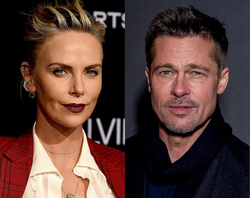 Brad Pitt, Charlize Theron, kobiety Brada Pitta