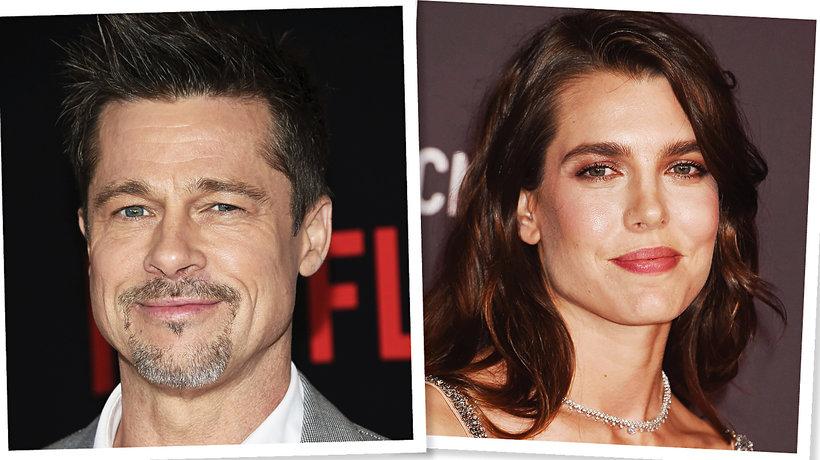 Brad Pitt, Charlotte Casiraghi