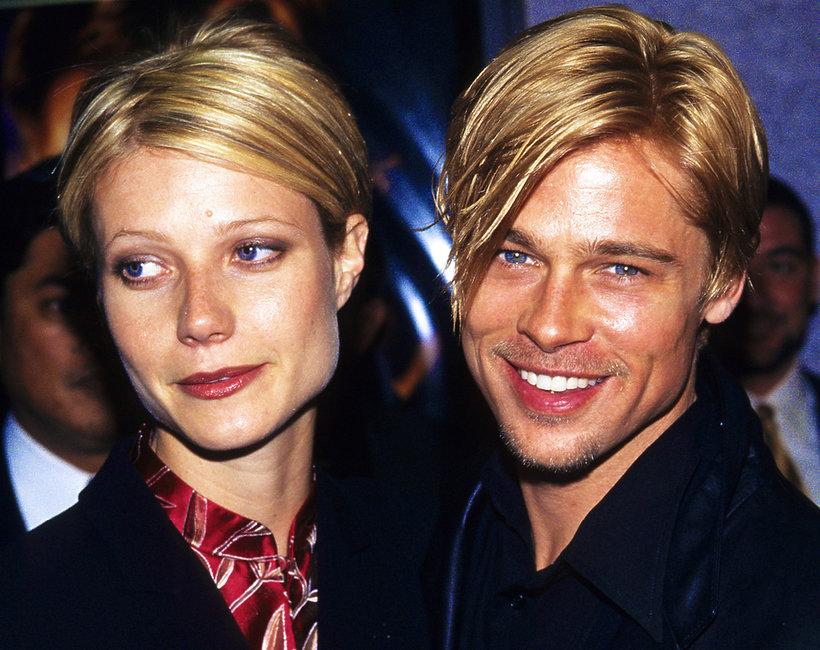 Brad Pitt fryzury