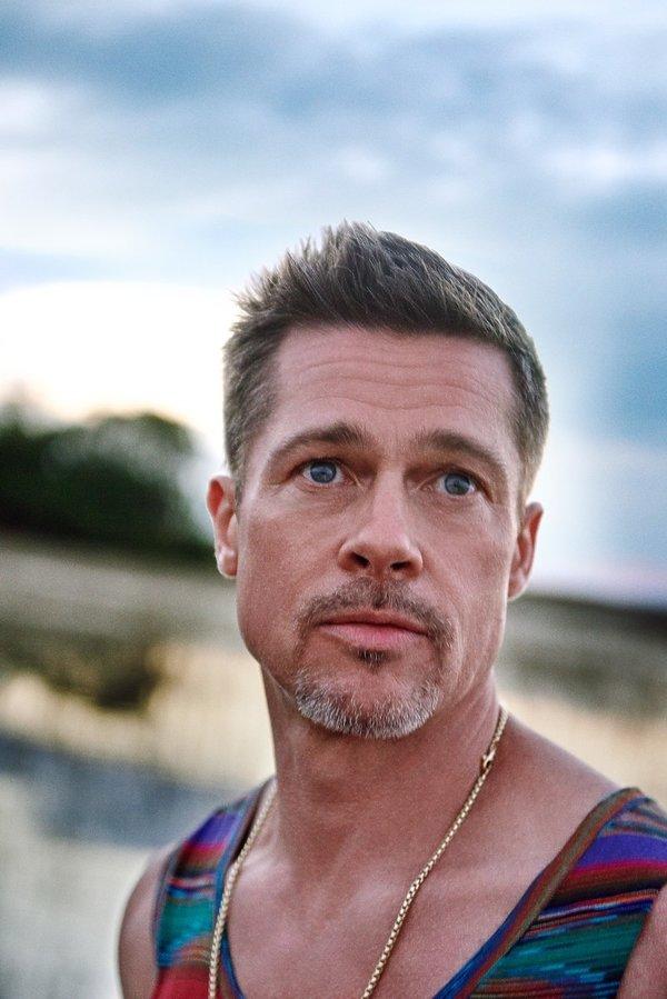 Brad Pitt GQ Style