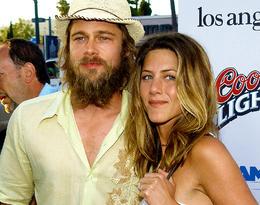 Brad Pitt od zawsze kopiował fryzury swoich partnerek, a teraz ma włosy jak Jennifer!