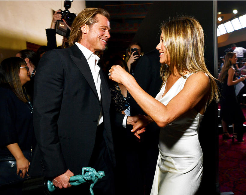 Brad Pitt, Jennifer Aniston, SAG Awards 2020