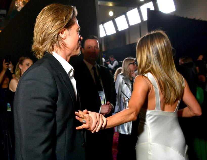Brad Pitt, Jennifer Aniston, SAG Awards, 2020