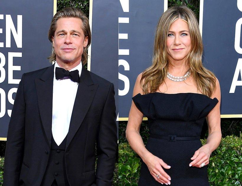 Brad Pitt, Jennifer Aniston, Złote Globy 2020