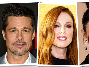 Brad Pitt, Julianne Moore, Demi Moore, Rihanna