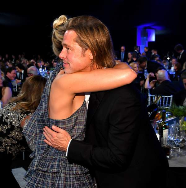 Brad Pitt, Margot Robbie, SAG Awards, 2020
