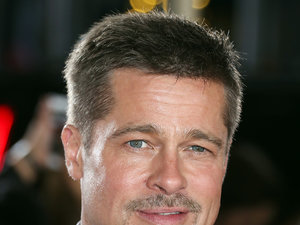 Brad Pitt na premierze Allied w Los Angeles
