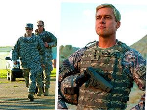 Brad Pitt w filmie Netflixa
