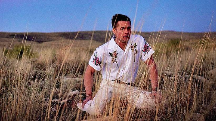 Brad Pitt w GQ style