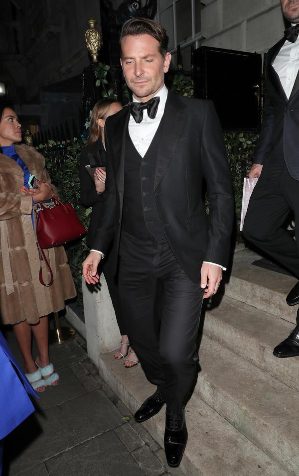 Bradley Cooper, afterparty BAFTA 2020, Vogue x Tiffany Fashion & Film