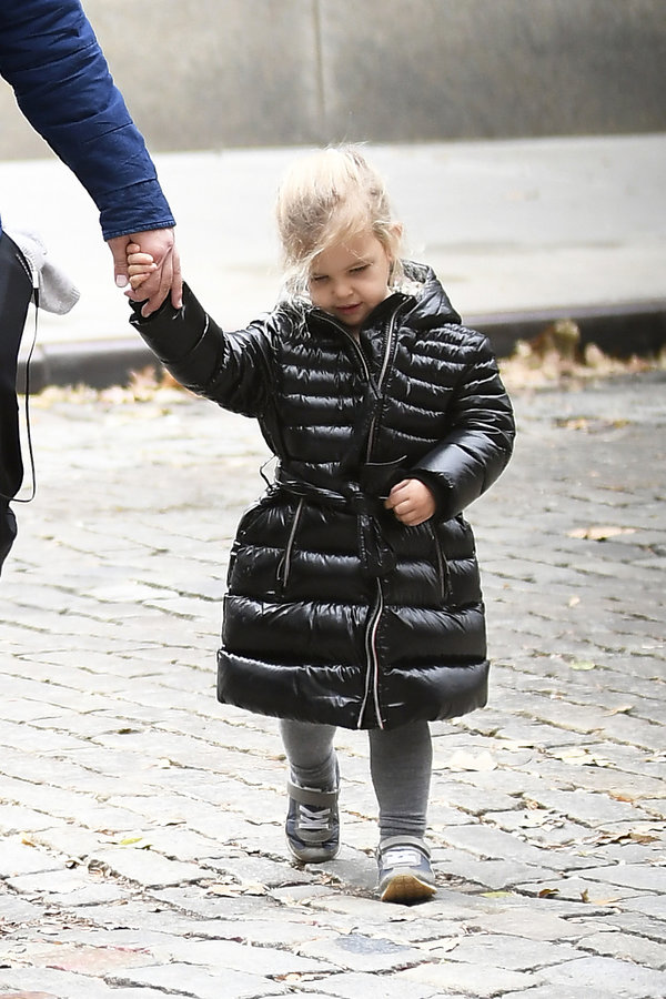 Bradley Cooper z córką w 2019