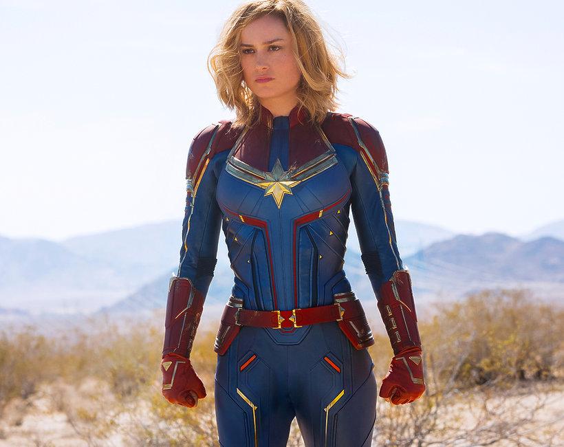 Brie Larson trening