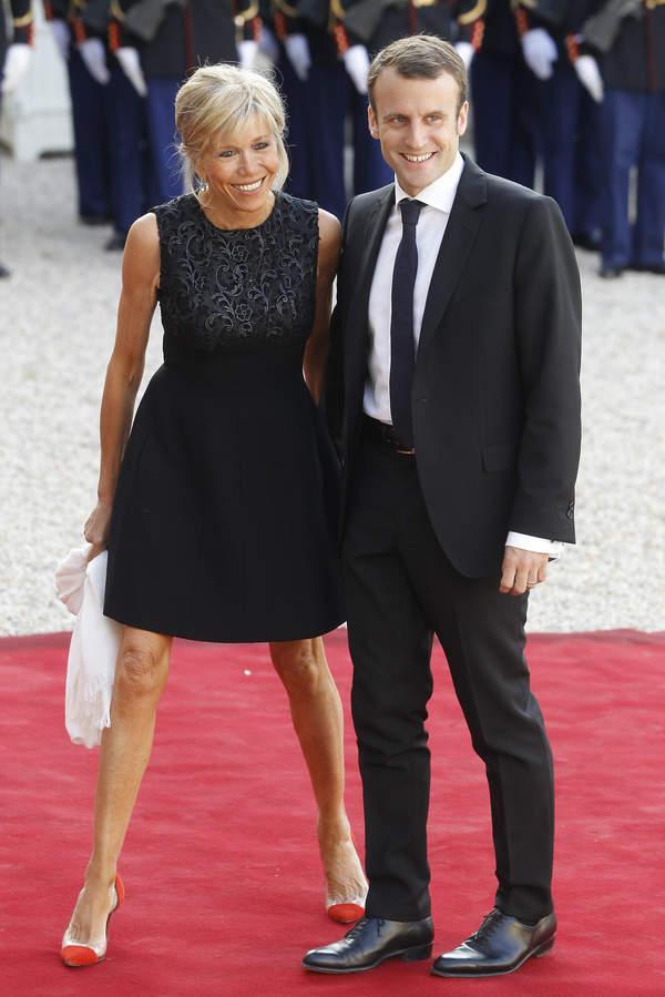 Brigitte Macron styl