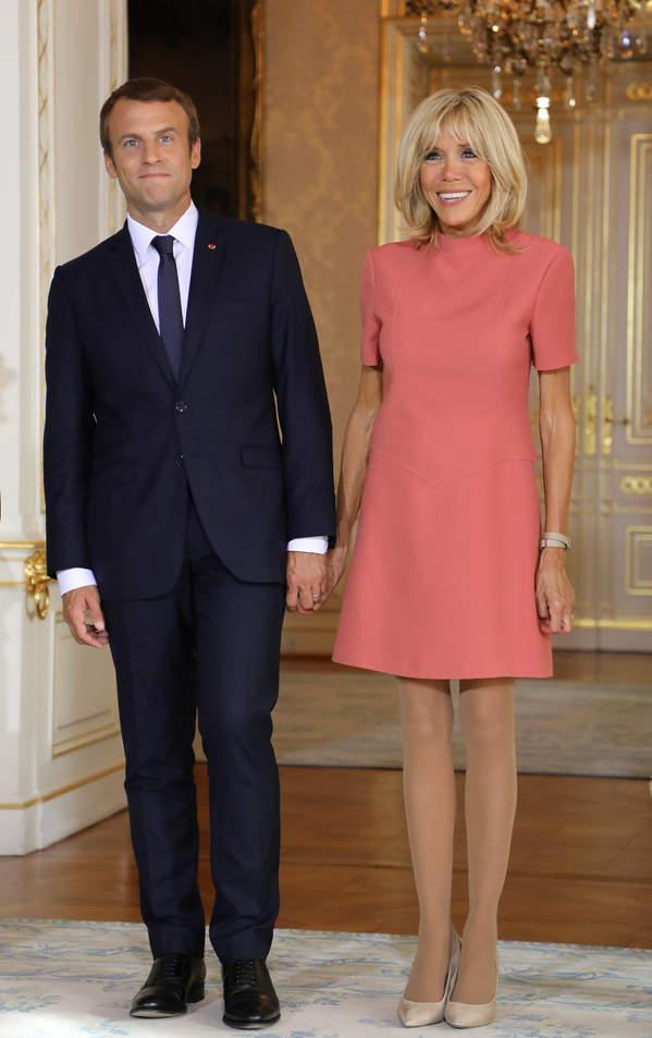 Brigitte Macron sukienka