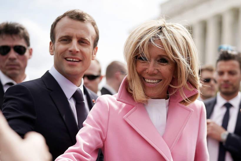 Brigitte Macron wiek