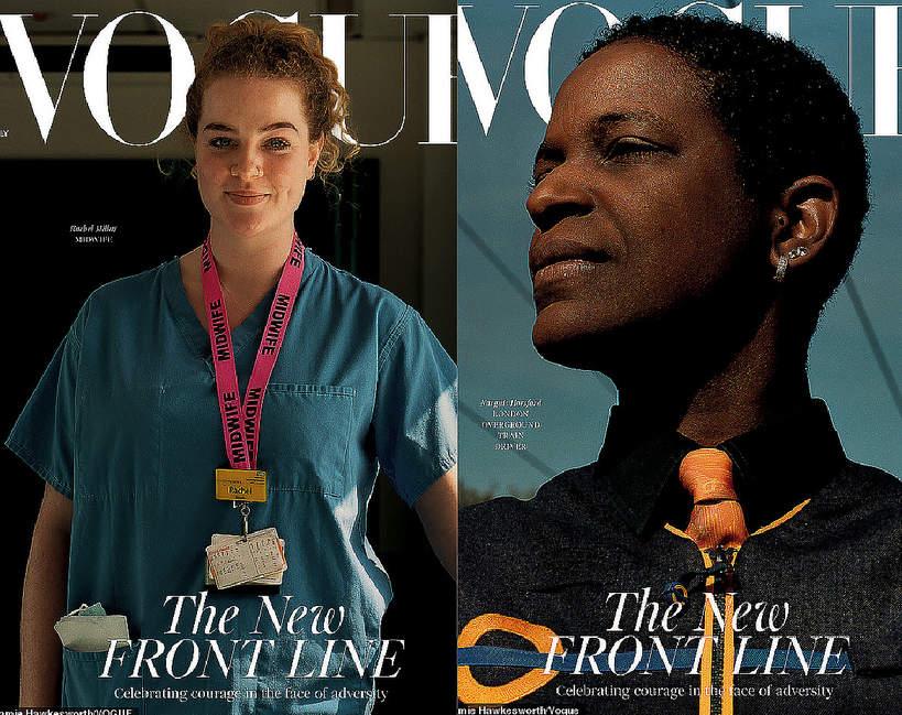 british Vogue, lipiec 2020, koronawirus