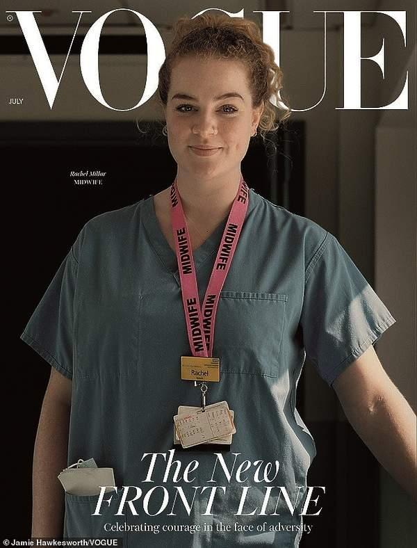 british Vogue, lipiec 2020, koronawirusbritish Vogue, lipiec 2020, koronawirus, Rachel Millar