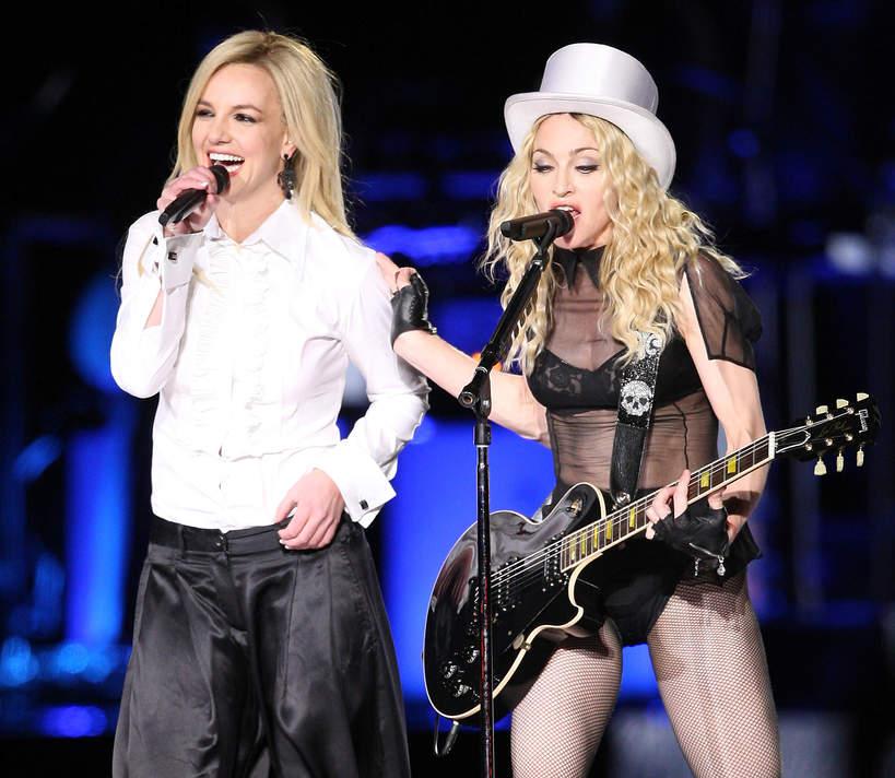 Britney Spears, Madonna pomoże