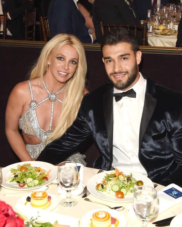 Britney Spears, Sam Asghari zaręczyny