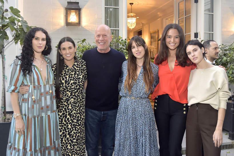 Bruce Willis, Demi Moore dzieci