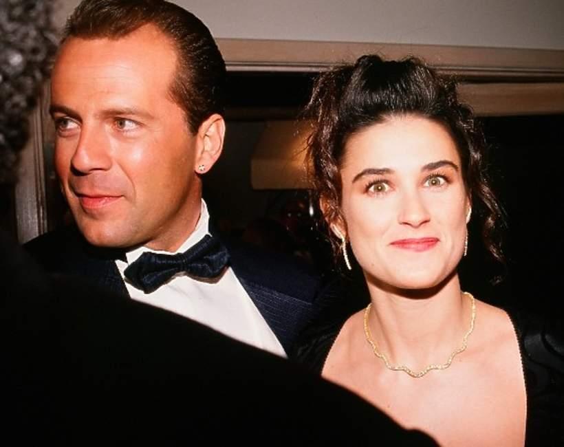 Bruce Willis, Demi Moore historia związku