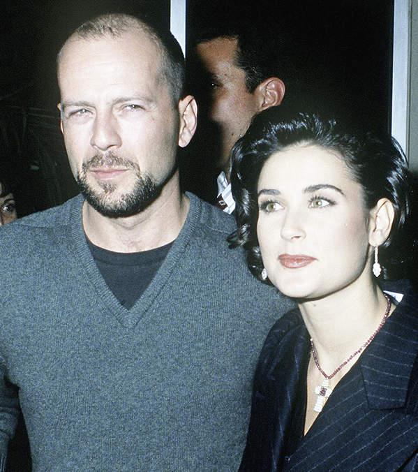 Bruce Willis, Demi Moore razem