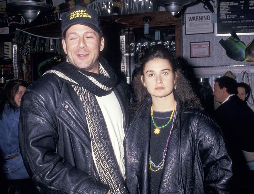 Bruce Willis i Demi Moore 1988 rok