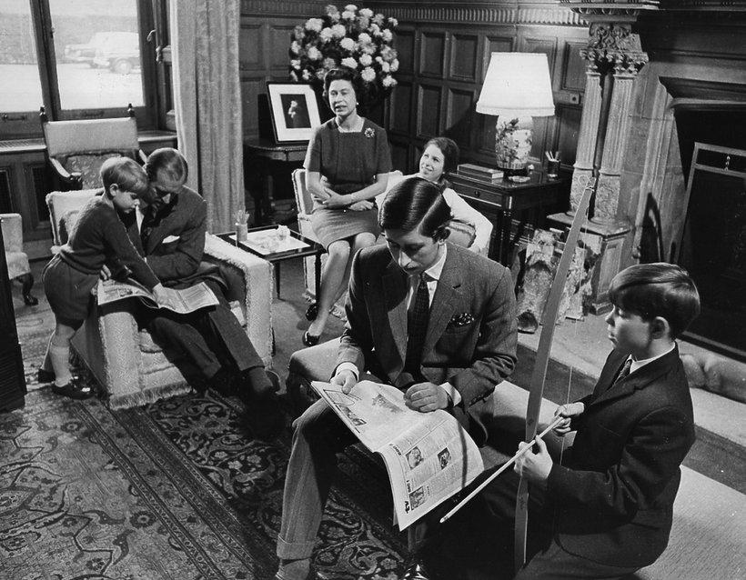 brytyjska rodzina królewska 1969 royal family