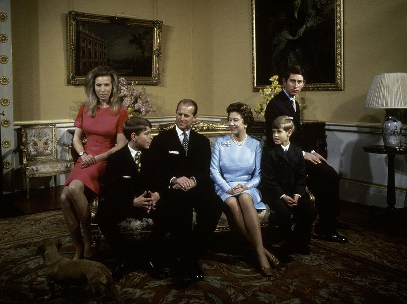 Brytyjska rodzina królewska 1972 rok