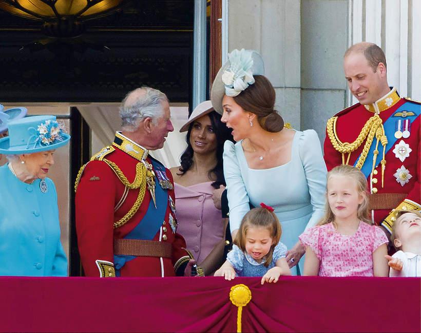 Brytyjska rodzina królewska, księżna Meghan, księżna Kate