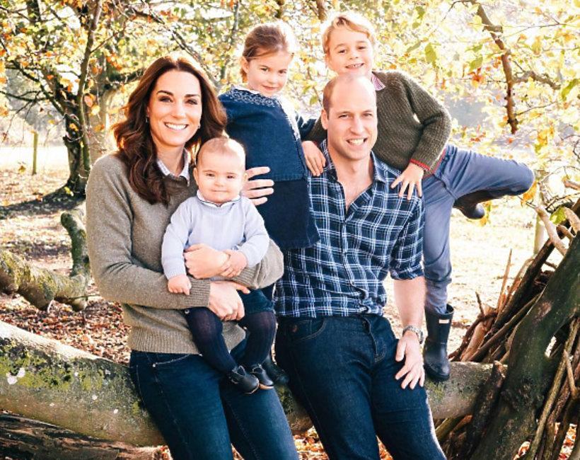 brytyjska rodzina królewska, oficjalne zdjęcie rodziny królewskiej