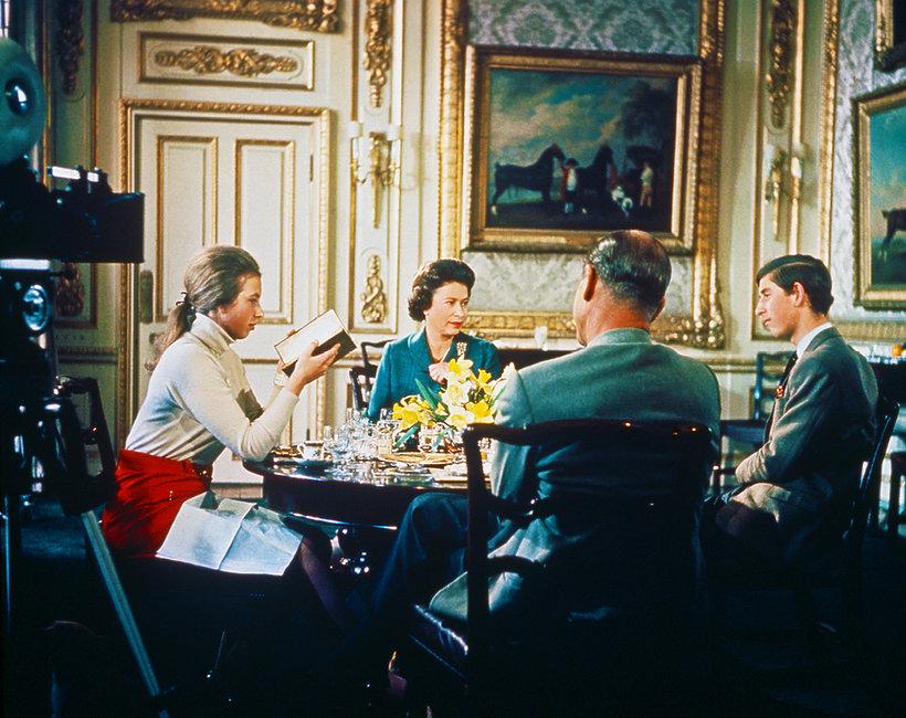 Brytyjska rodzina królewska Royal family 1969