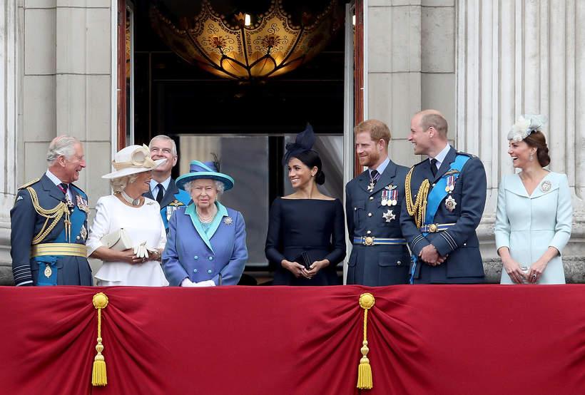 Brytyjska rodzina królewska, royalsi