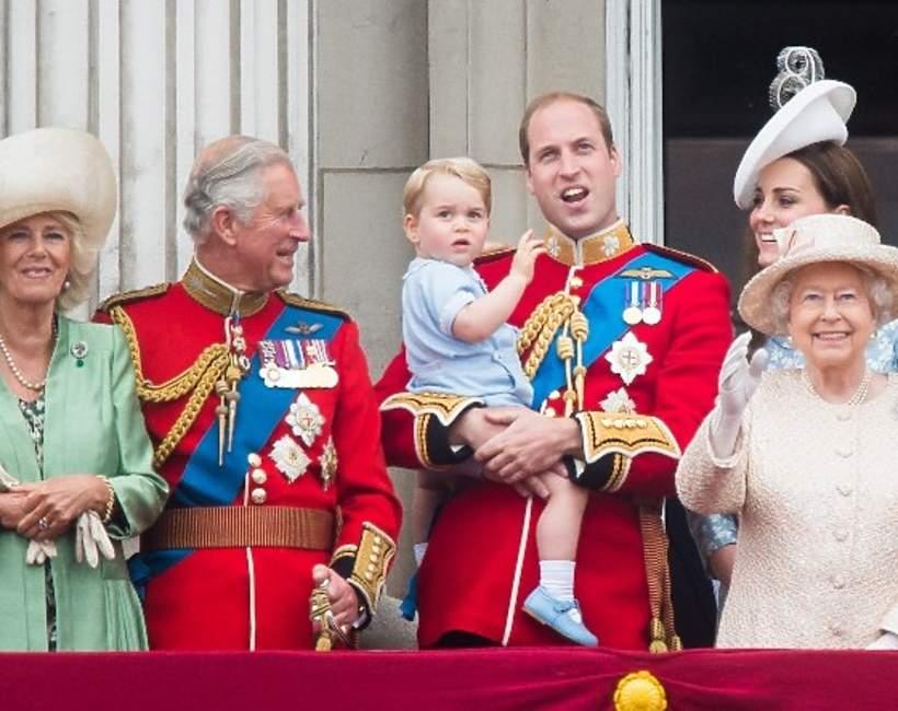 brytyjska rodzina królewska The Crown