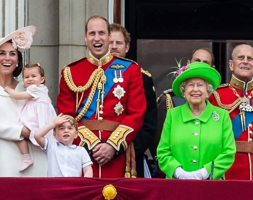 Brytyjska rodzina królewska tytuły
