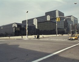 Budynek zaprojektowany przez I.M. Peia