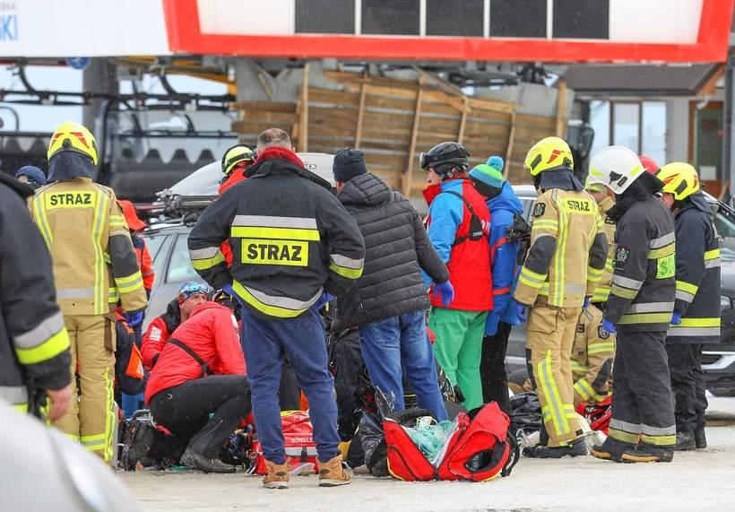 Bukowina Tatrzańska, akcja ratunkowa