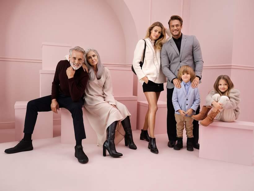 Buty i dodatki dla całej rodziny w kampanii CCC Lasocki Winter Stories