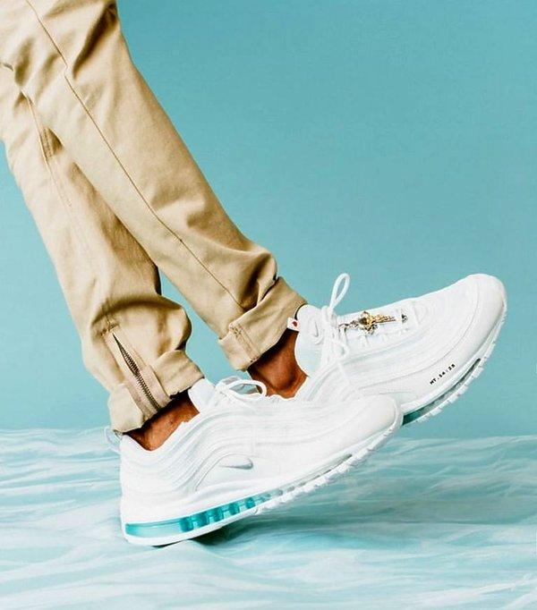 buty z wodą święconą, Nike Air Max 97 INRI Jesus Shoes