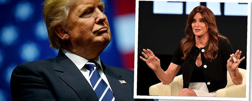Caitlyn Jenner i Donald Trump