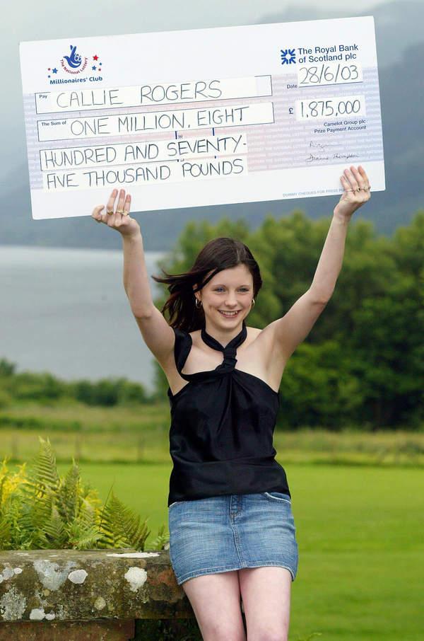 Callie Rogers milionerka z UK