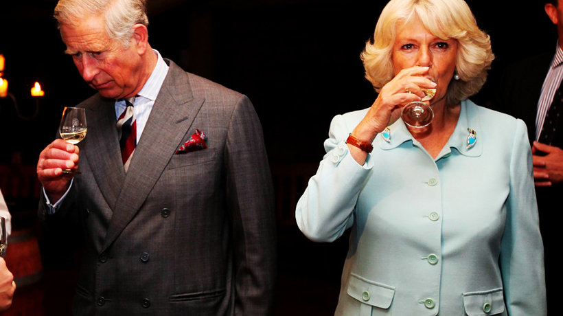 Camilla Parker Bowles i książę Karol