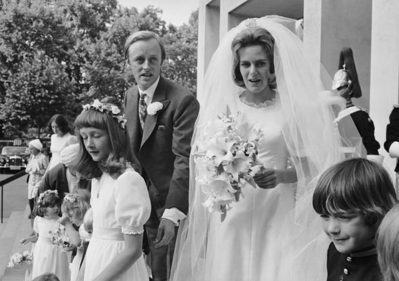 Camilla Parker Bowles w młodości, Camilla Parker Bowles ślub