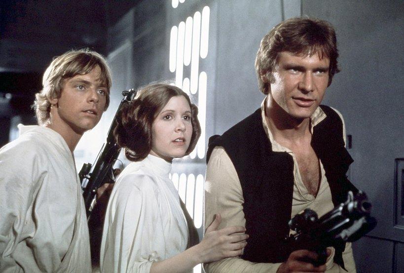Carrie Fisher Gwiezdne Wojny