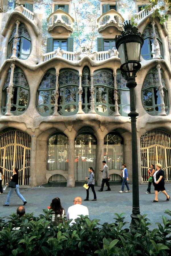 Casa Bathlo w Barcelonie