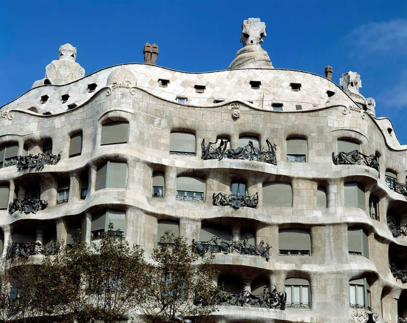 Casa Milo w Barcelonie