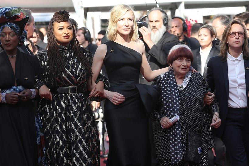 Cate Blanchett, protest kobiet w Cannes