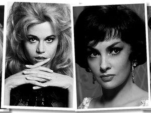 Catherine Deneuve, Jane Fonda, Gina Lollobrigida, Joan Collins