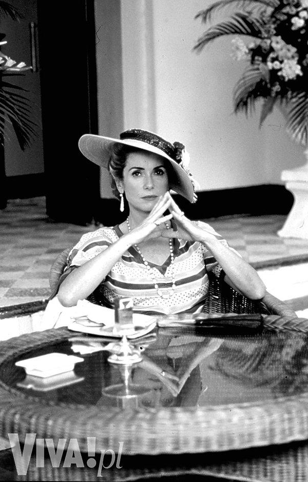 "Catherine Deneuve w filmie ""Indochiny"", 1992 rok, VIVA! sierpień 2016"
